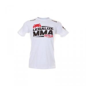 """VENUM """"LEGALIZE MMA"""" T-SHIRT - BLANC"""
