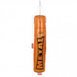 sac de frappe pro cuir METAL BOXE MB 184 -150