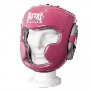 casque intégral entraînement femme METAL BOXE MB 229