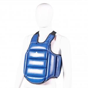 Protection poitrine – Plastron de Karaté ADIDAS reversible côté bleu