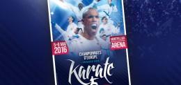 Euro karaté 2016 - affiche